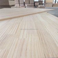 Radiata wood finger jointed laminated timber board