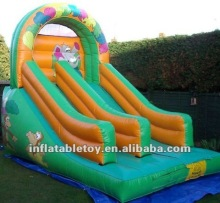 new outdoor inflatable water dry slide