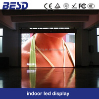new invention 2015 new product indoor P3 advertising led display screen/3mm led video wall