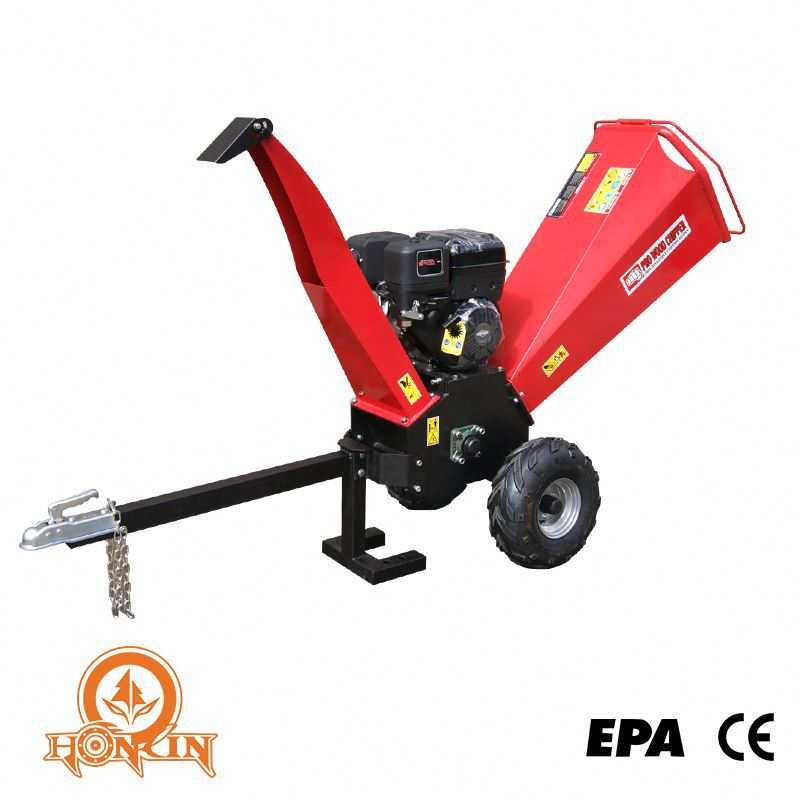 Europe standard CE certificate Kohler Honda gasoline engine hydraulic high effciency cheap manual garden shredder
