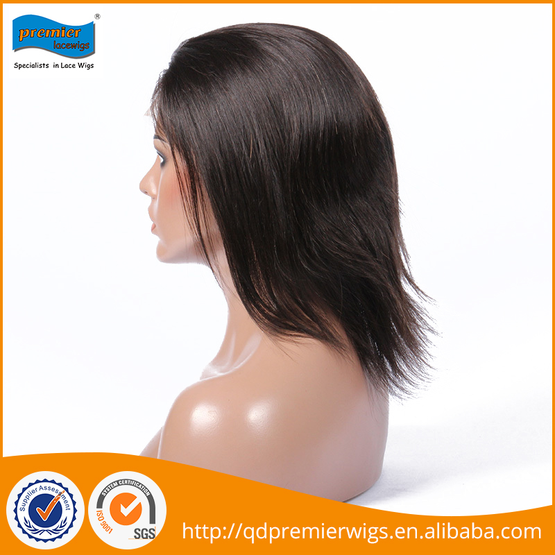 Lace wig wholesale cheap human hair full lace wig short human hair wig for black women