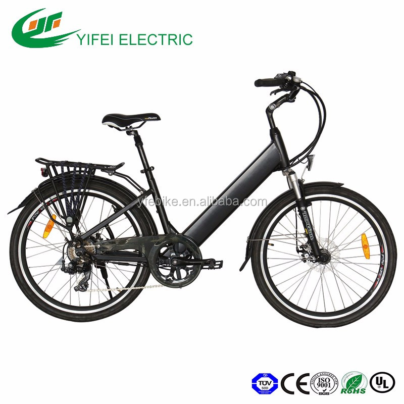 Cheap ebike 26 inch city lady new 36V250W hidden lithium battery inside frame moped electric bicycle electric bike (TDE05Z)