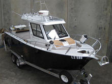 Aluminum fishing boat for sale philippines walk around yacht