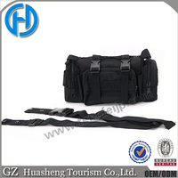 Removable strap molle black tactical sling handbag high quality