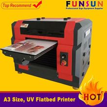 Funsunjet A3 size dx5 head 1440dpi gold foil ribbon printer uv printer
