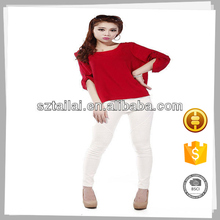 Clothes supplier Latest design Elegant Cotton modern chiffon blouse