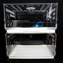 China manufacture acrylic pet cage,acrylic hamster cage,acrylic cage