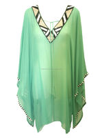 2015 New Style Elegant Ladies Beaded Kaftan with V neck