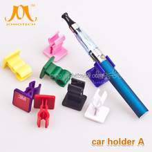 Wholesale - New 2014 E Cigarette Car Holder Stand Black Acrylic w/ Adhesive Tape Ecig Holders for Ego EVOD Vision Spinner Mechan