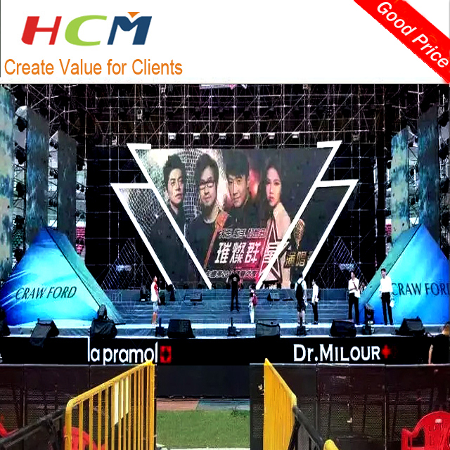 Hot P4 Outdoor Full Color LED Billboard/LED Stage Background Screen/LED Video