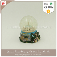 2016 Top Quality Hanging Christmas Tree Snow Globe