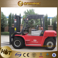 forklift dimensions YTO CPCD50 dalian forklift