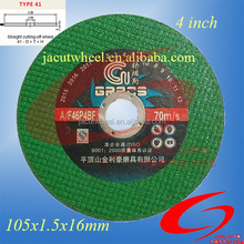 Angle Grinder Cutting Discs For Metal