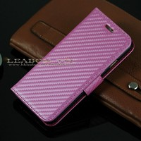 new arrival cross pattern wallet leather case for iphone 6 plus 5.5 inch