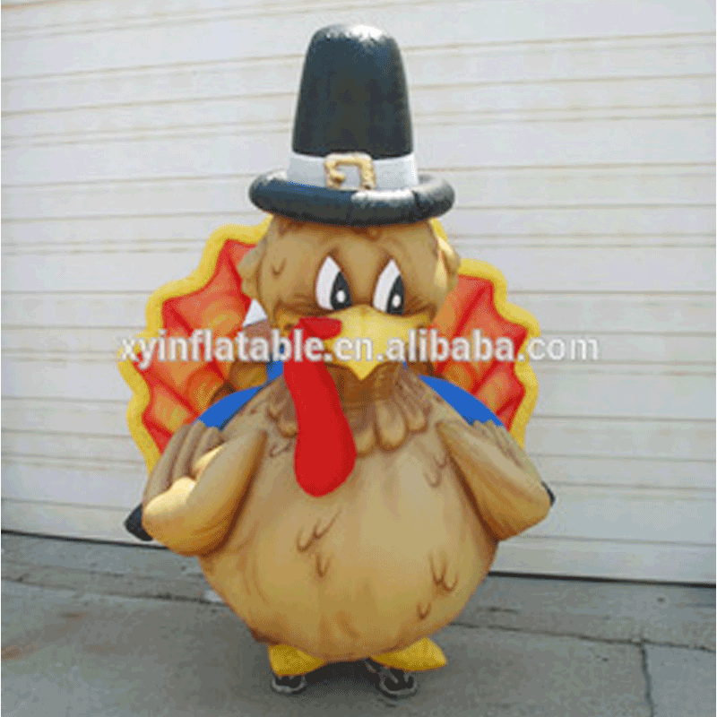2017 Customized New Products Inflatable Turkey for Advertising