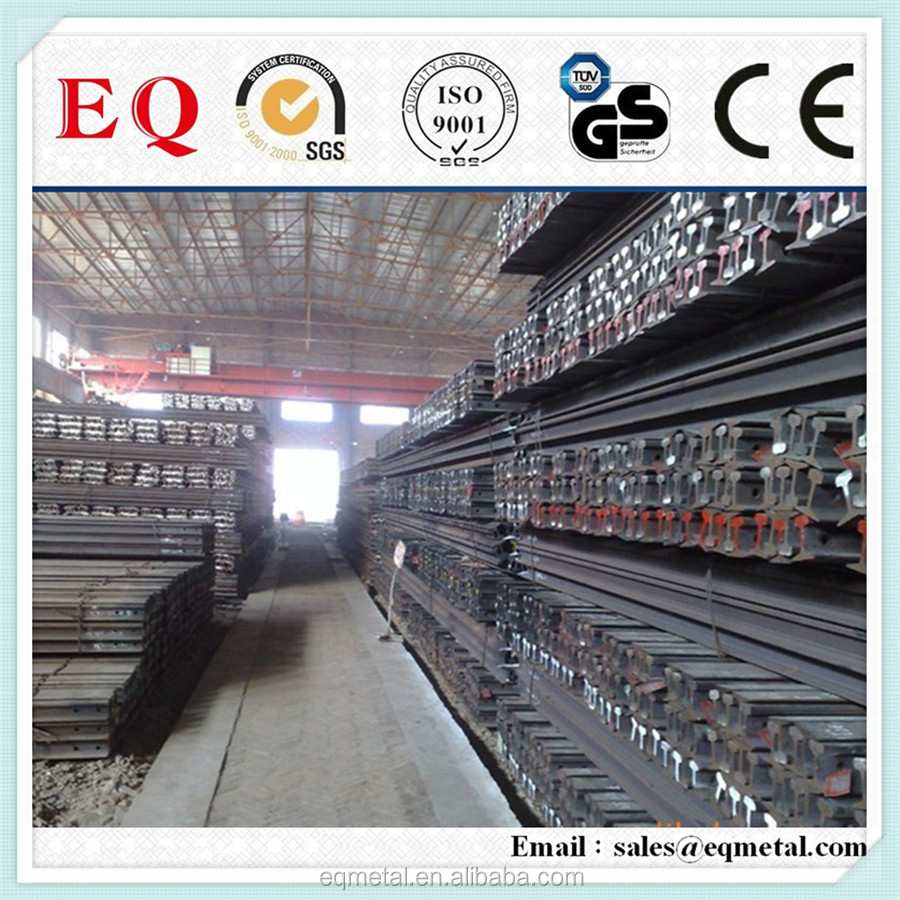 Railway equipment manufacturer low price UIC60 steel rail