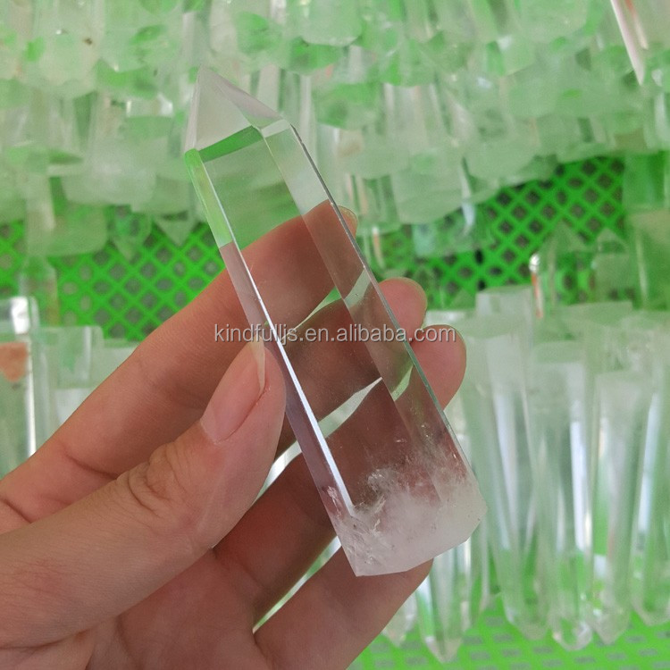Top Quality Clear Crystal Point Healing Quartz Crystal Points for Carving