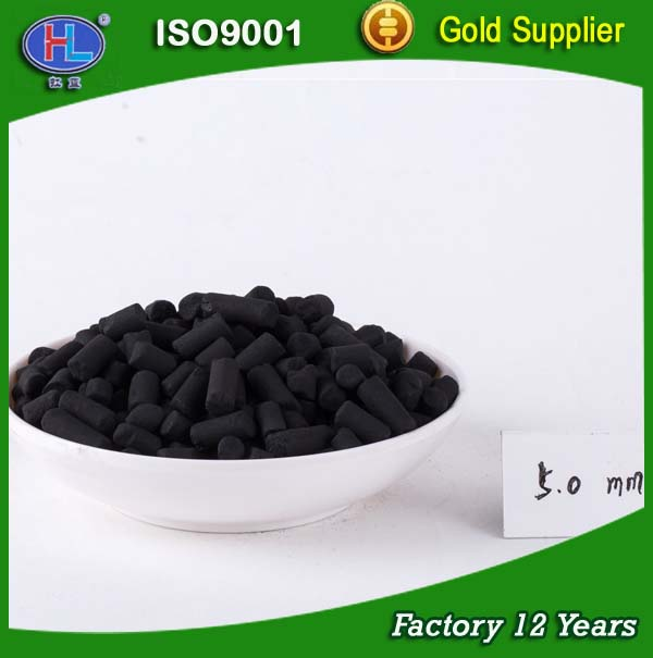 Oil Vapour Absorber Wood Based Pellet Activated Carbon