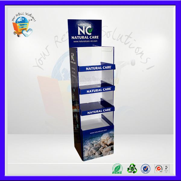 paper cube display ,paper crisps display shelf ,paper cube advertising stack