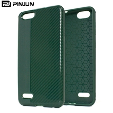 Brushed Carbon Fiber Soft TPU Phone Case For ZTE Warp 8 ,Fashional Protective Case Mobile Case Covers