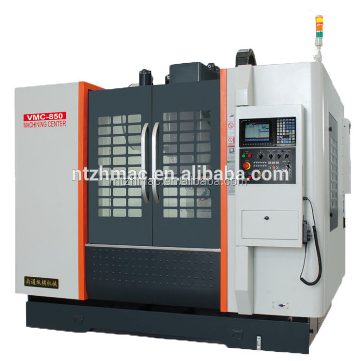 popular vmc850 auto parts aluminum profile machine center