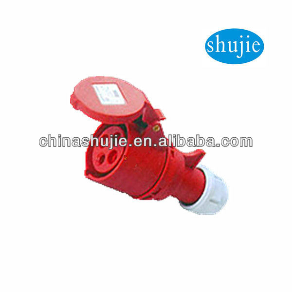 2013 new products S-S07 Industrial 4-pin electric switch socket
