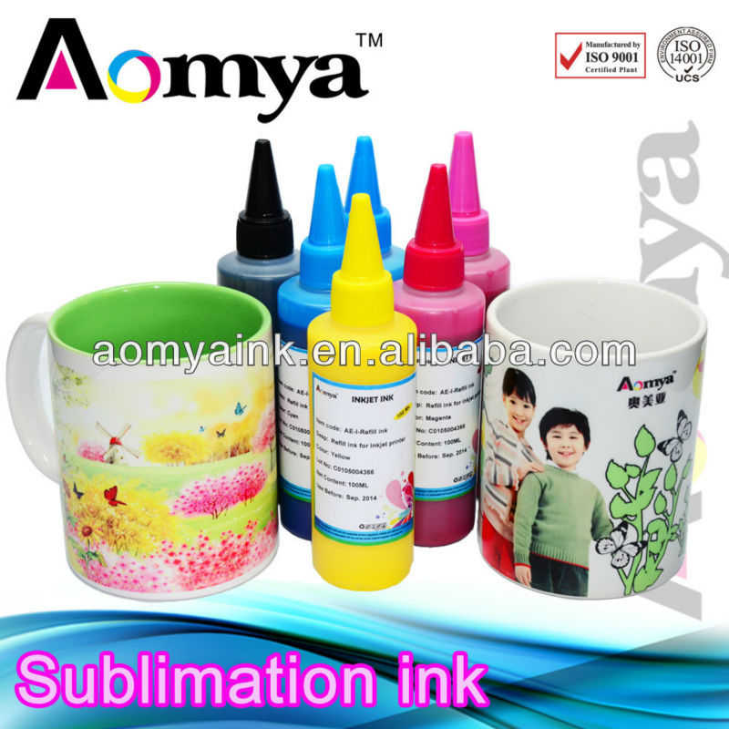 Aomya sublimation ink for uncoated art paper