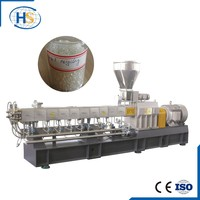 Plastic pellet extruder machine for film filler line