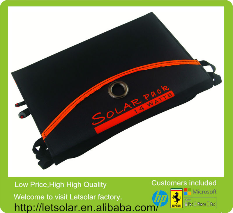 2014 hot solar mobile charger circuits for laptop for iPhone,smartphone directly under the sunshine