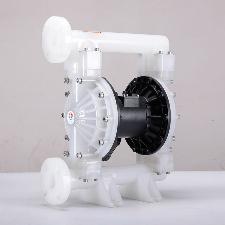 Simple operation Air power slurry double diaphragm pump