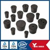custom tapered rubber bung/ drilled rubber stopper /rubber plug made from SBR NBR