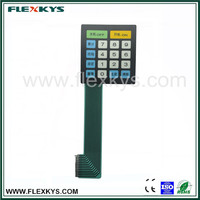 Factory exported directly anti-static flat circuit Electronic keypad for electronic scale