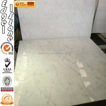 24X24 White Carrara Marble Tiles