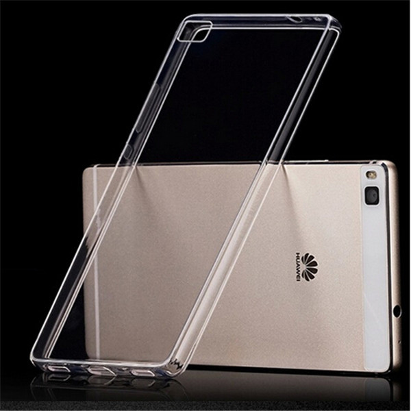 Guangzhou PinJun Wholesale Crystal Transparent Clear Ultra Thin TPU Cover Case For Huawei P8 Lite