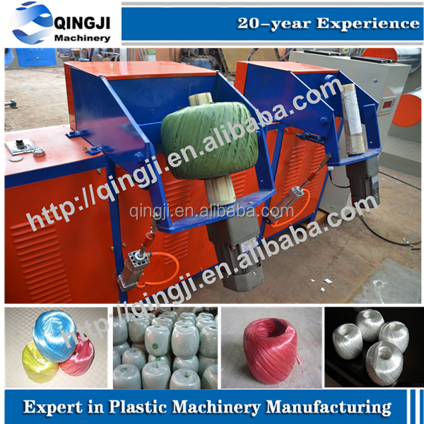 plastic yarn/twine/thread/ rope balls making/winding machine on sale