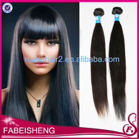 fashion grade 5A remy virgin human straight hair
