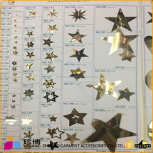 Custom Colorful Star Shape Sequins For Decorative