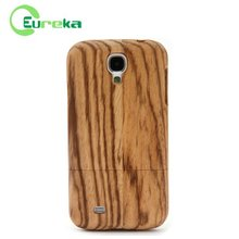 Wholesale real wooden mobile phone case for Samsung Galaxy S4 I9500