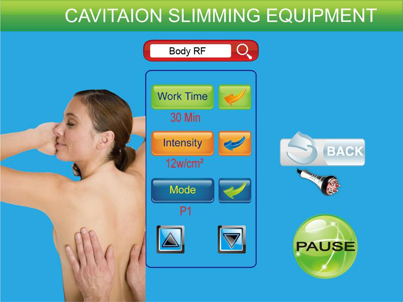 Ultrasonic Cavitation+Vacuum Liposuction+Laser+Bipolar RF+Roller Massage/Vacuum RF Ultrasonic Cavitation Body slimming