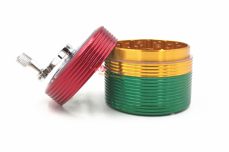 T061GA LVHE 63MM Aluminum Industrial Custom Herb Grinder Price