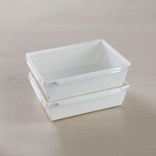 New technical heat-sealing Customer paper made Eco food tray