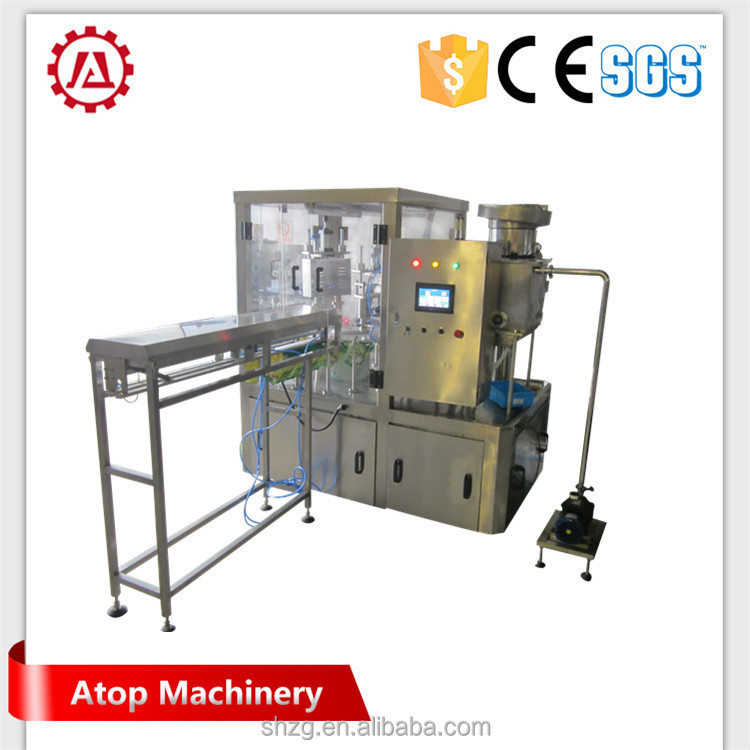 Dongguan Beinuo soybean milk peak spout stand up pouch packing machine with Long Service Life