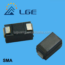 P4SMA39A 39V Transient voltage suppressor diode DO-214AC
