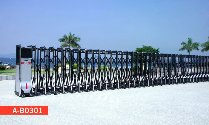 The New Retractable Gate Now in The Philippines