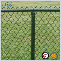 Top quality competitive price useful used chain link fence for sale factory