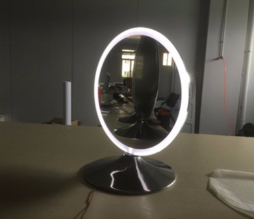Salon station mirrors with led light buy hair salon for Beauty salon mirrors with lights