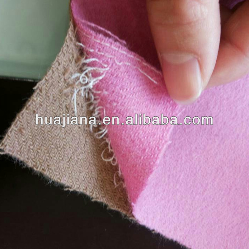 double faces cashmere wool blend fabric
