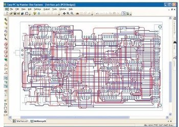pcb layout - Easy-Route Autoroute