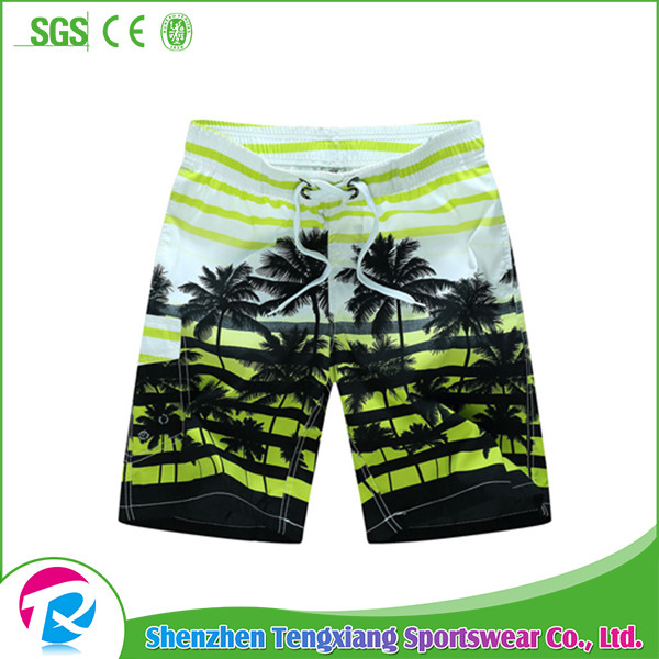 2017 Men Beach Shorts Sexy Swim Trunk European Swimwear