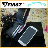 2014 Hot selling wallet case for samsung,new hot wallet case for galaxy s3